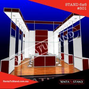 Stand 6x6 cabecera #501