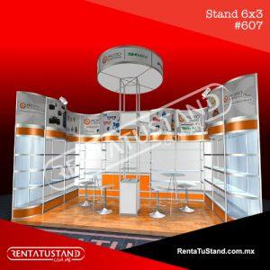 Stand cajón #607 en RentaTuStand
