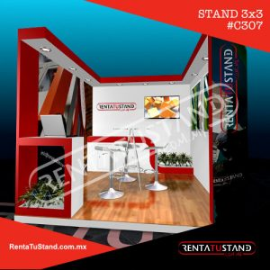 Stand 3x3 c307 en madera