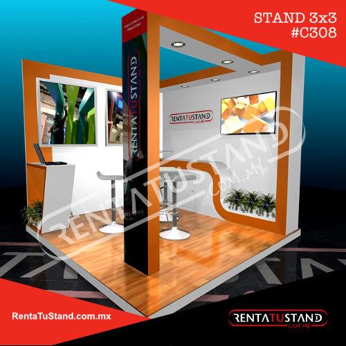 Stand custom c308 esquina