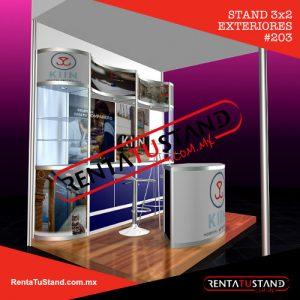 Stands para exteriores 3x2 cabecera 203