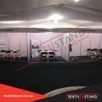 Renta de Stands intitucionales, booth Blanco