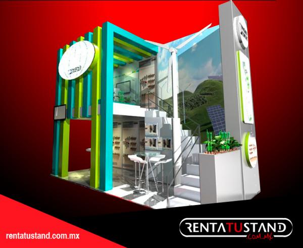 Renta tu Stand 6×3 esquina #C614