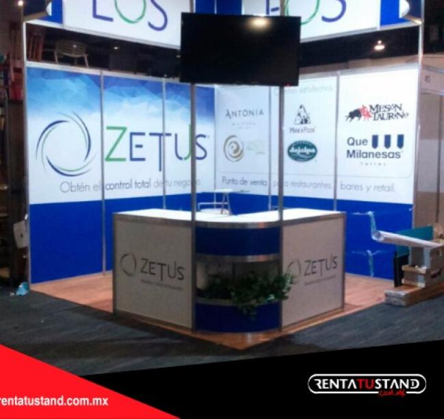 Stand 3×3 esquina #308
