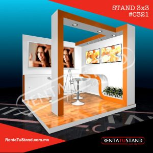 Stand custom 3x3 esquina #321
