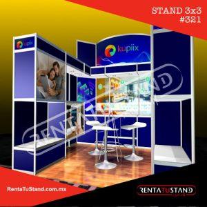 STAND EN RENTA 321 - 3X3 CAJON
