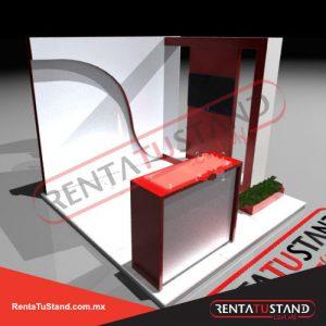 Renta de stand cabecera c328-3x3
