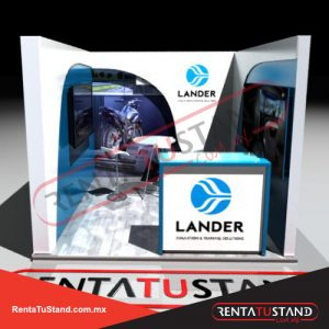 Stand-c330-3X3-cajon-lander