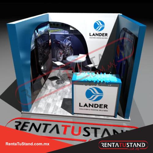 Stand-c331-3X3-cajon-lander