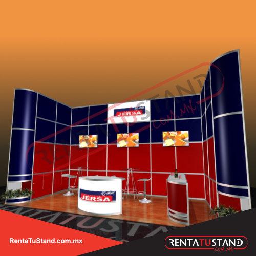 Stand 701: 7X3 CAJON - Renta tu Stand
