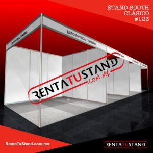 123 stand booth clásico rentatustand en renta