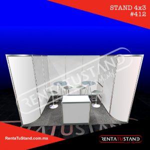Stand octanorm 4x3 cajon #412