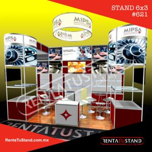 Stand octanorm 6x3 #621
